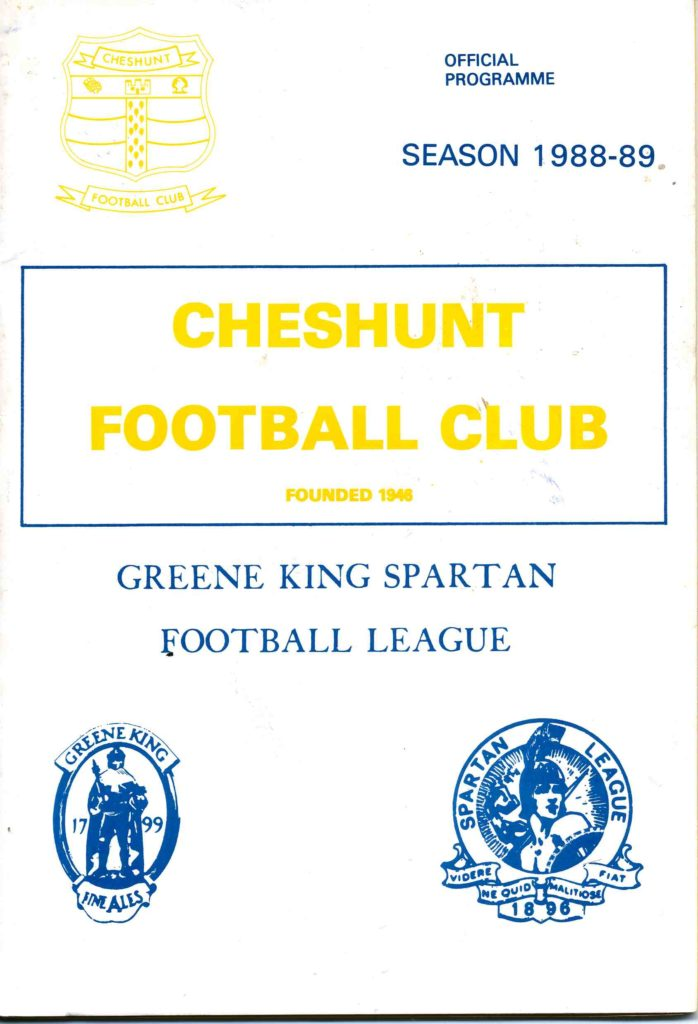 Cheshunt Away