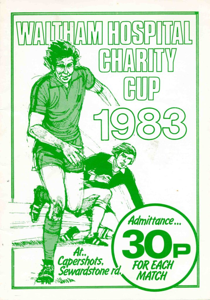 Hospital Cup Prog Cover 1982-83059